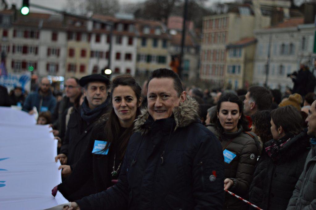 'Maintenant, les prisonniers': au Pays Basque, la société civile prend les rues pour la paix