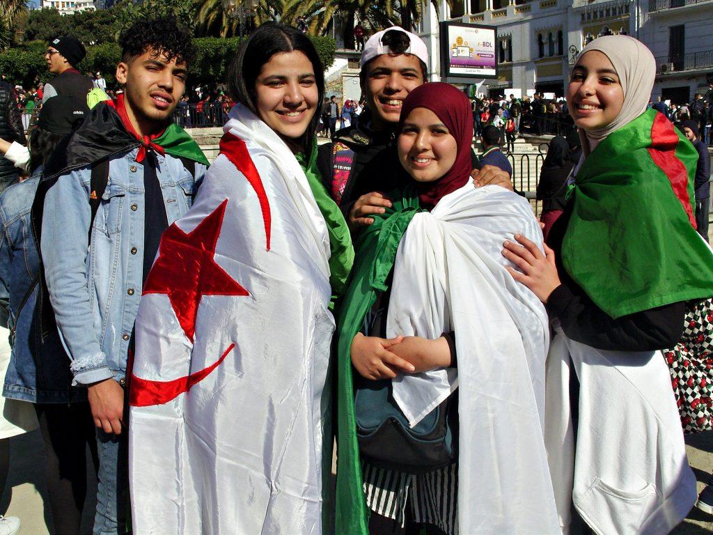 """""""J'avais l'impression que l'Algérie me demandait personnellement de sortir défiler"""""""
