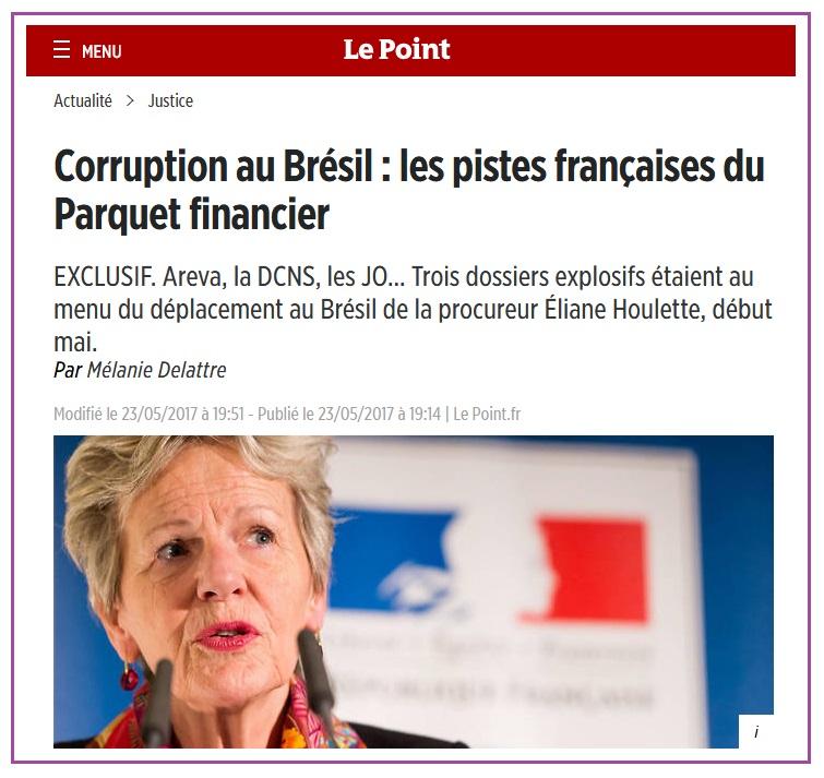 L'ex-agent secret qui en sait beaucoup trop #16 Areva et l'argent de l'affaire UraMin: corruption au Brésil?