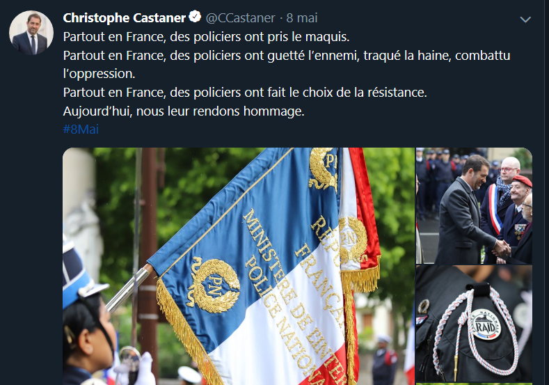Police et résistance: le point Godwin de Castaner | Julien Théry