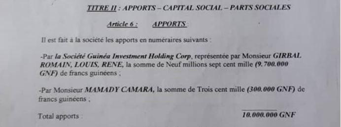 Guinée - Les petits arrangements d'AMR avec la vérité