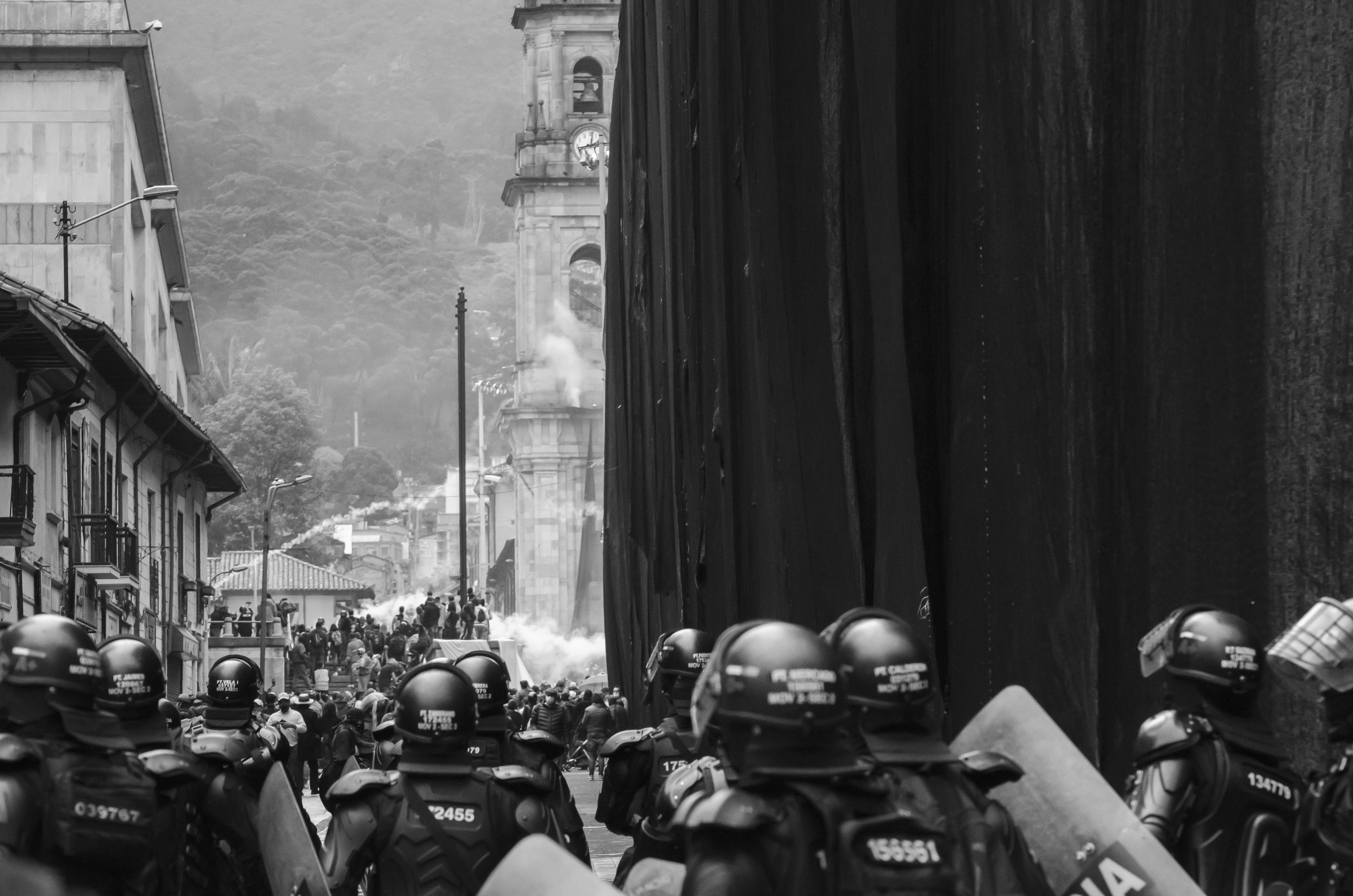 En Colombie, la police assassine