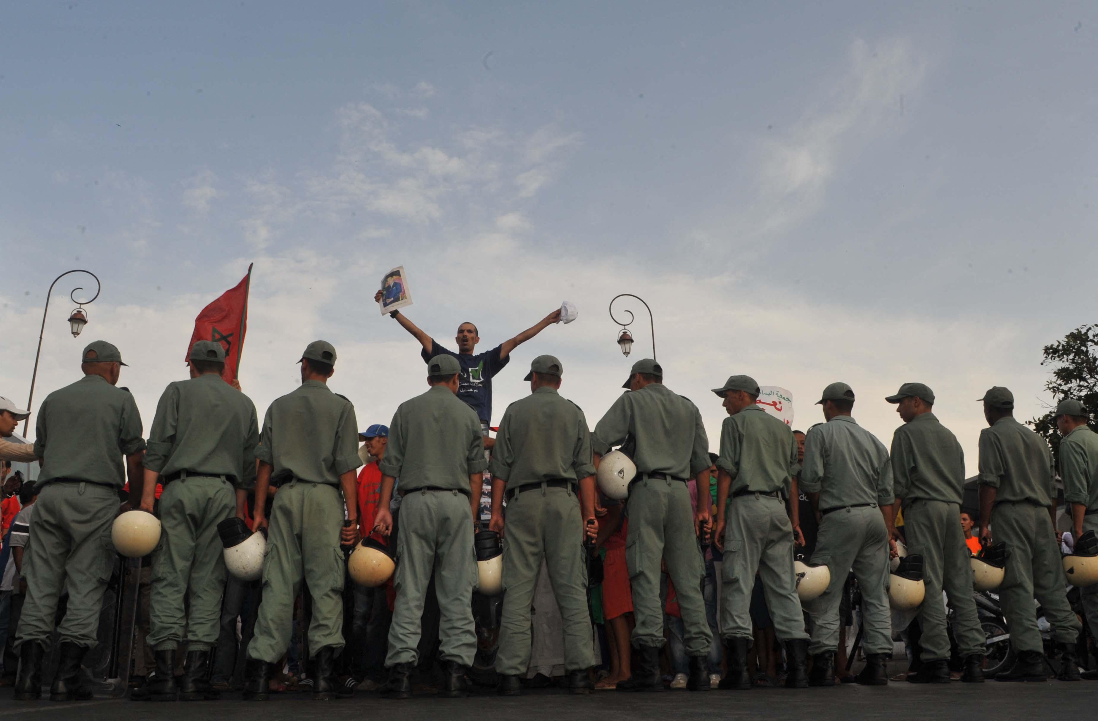 L'exil ou la prison: au Maroc, le triste anniversaire du 20 février 2011